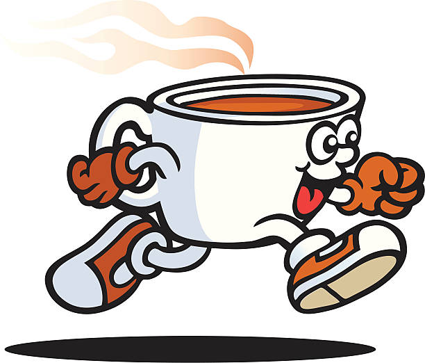 Top 60 Cartoon Of Steaming Cup Coffee Clip Art, Vector ...
