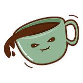 istock Coffee Cup Halloween Edition 1306943033