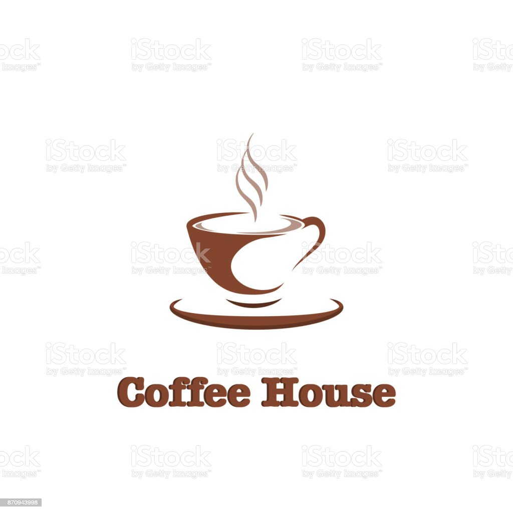 Coffee Cup Hot Drink Icon Design Template For Coffee House Restaurant Menu Banner Stock Illustration Download Image Now Istock