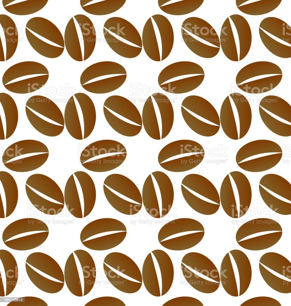 Koffiekopje pictogram achtergrond vector - Royalty-free Achtergrond - Thema vectorkunst