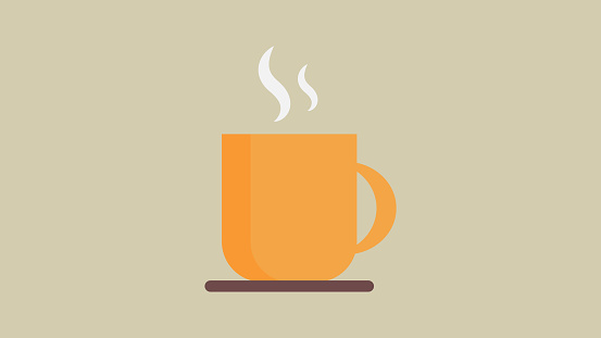 Coffee cup icon clipart