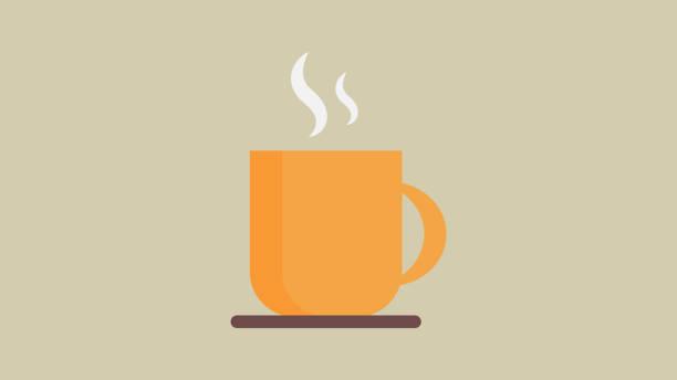 ilustrações, clipart, desenhos animados e ícones de ícone do copo de café - café