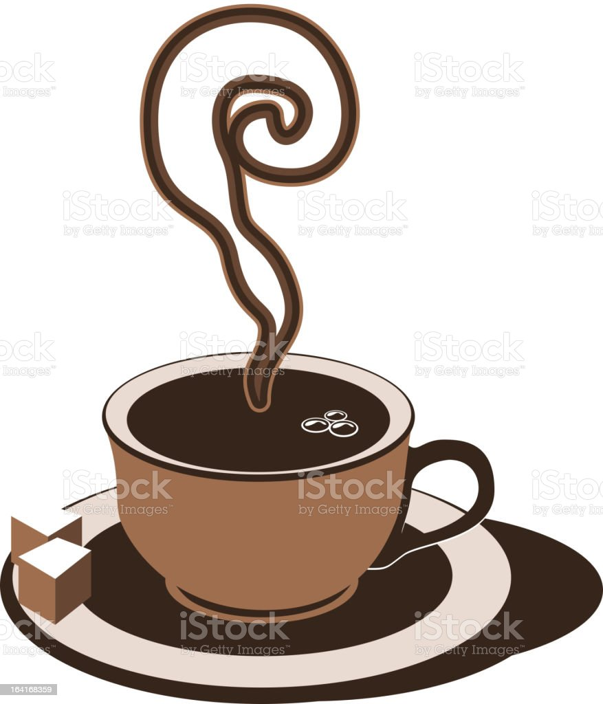 Coffee cup icon royalty-free coffee cup icon stock vector art & more images of cafe
