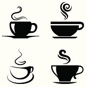 Coffee Cup icon- Vector