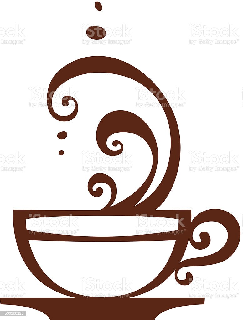 Coffee Cup Icon Vector Stock Illustration - Download Image ...