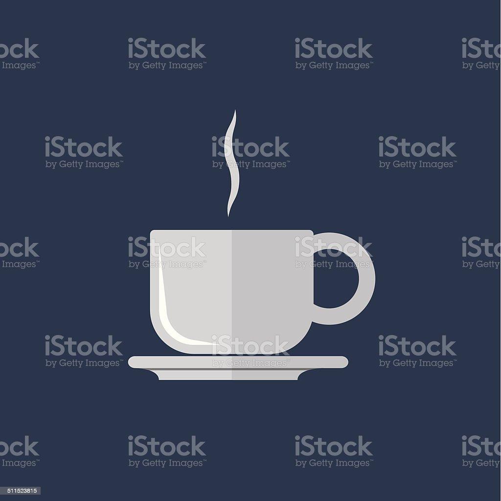 Coffee Cup Icon Vector vector art illustration
