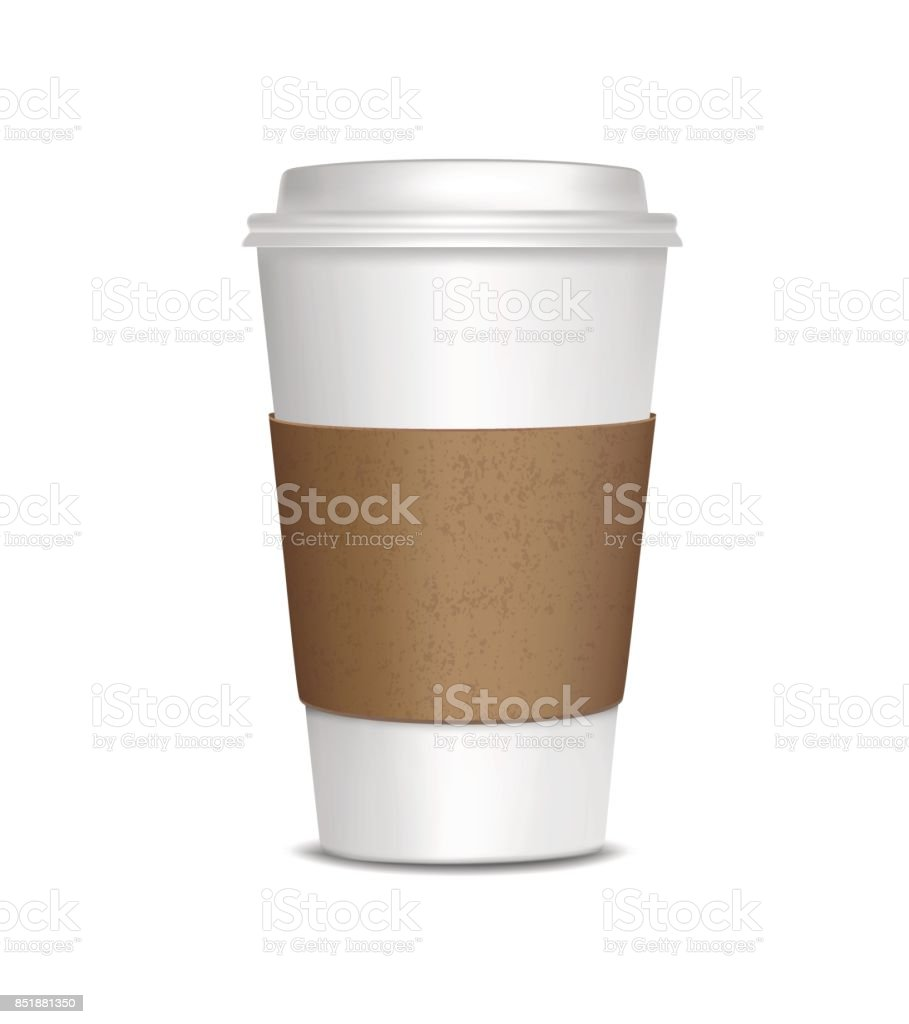 Coffee Cup Isolated on white background royalty-free coffee cup isolated on white background stock illustration - download image now