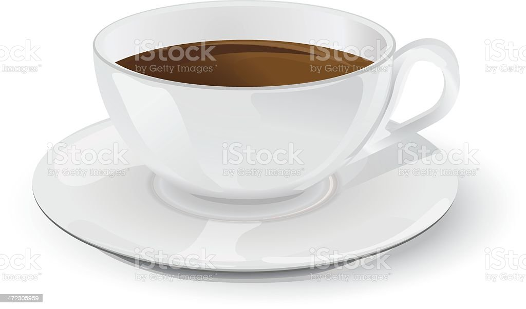 Coffee cup royalty-free coffee cup stock vector art & more images of black coffee