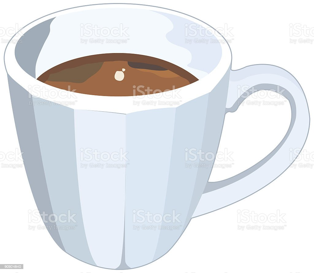 Coffee Cup royalty-free coffee cup stock vector art & more images of brown