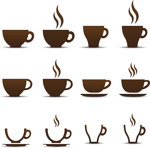 Coffee cup vector Coffee cup vector. This image is a vector illustration hot chocolate stock illustrations