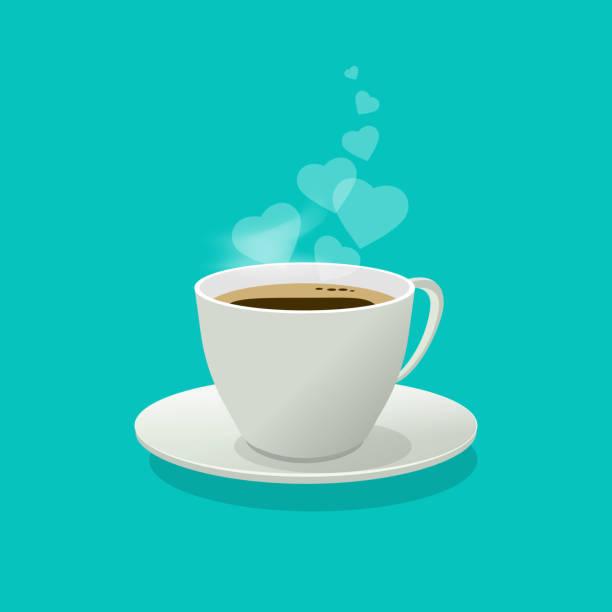 Top 60 Cartoon Of Steaming Cup Coffee Clip Art, Vector ...