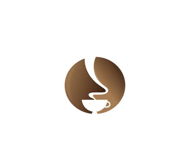 ilustrações de stock, clip art, desenhos animados e ícones de coffee design illustration - coffe shop