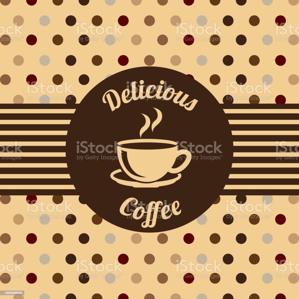 Coffee Design royalty-free stock vector art