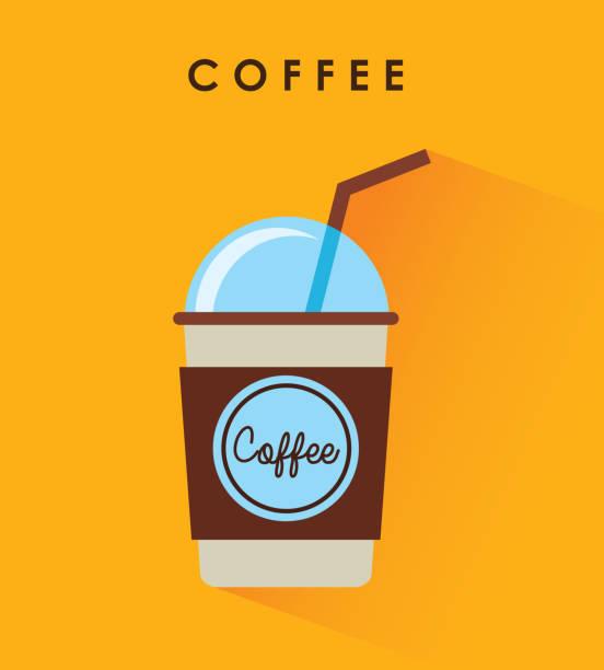 アイス コーヒー イラスト