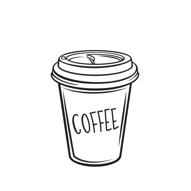 Royalty Free To Go Coffee Cup Clip Art, Vector Images ...