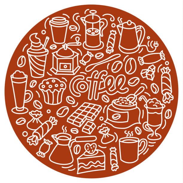 ilustrações de stock, clip art, desenhos animados e ícones de coffee drink sign - café solúvel