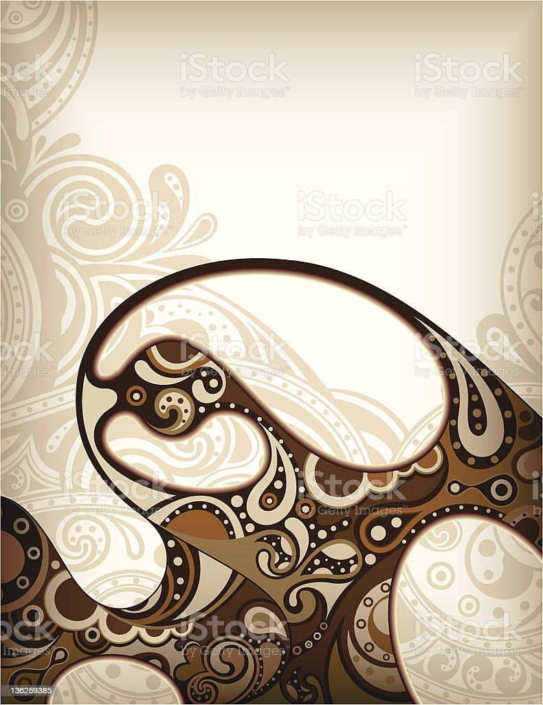 Coffee Foam royalty-free stock vector art