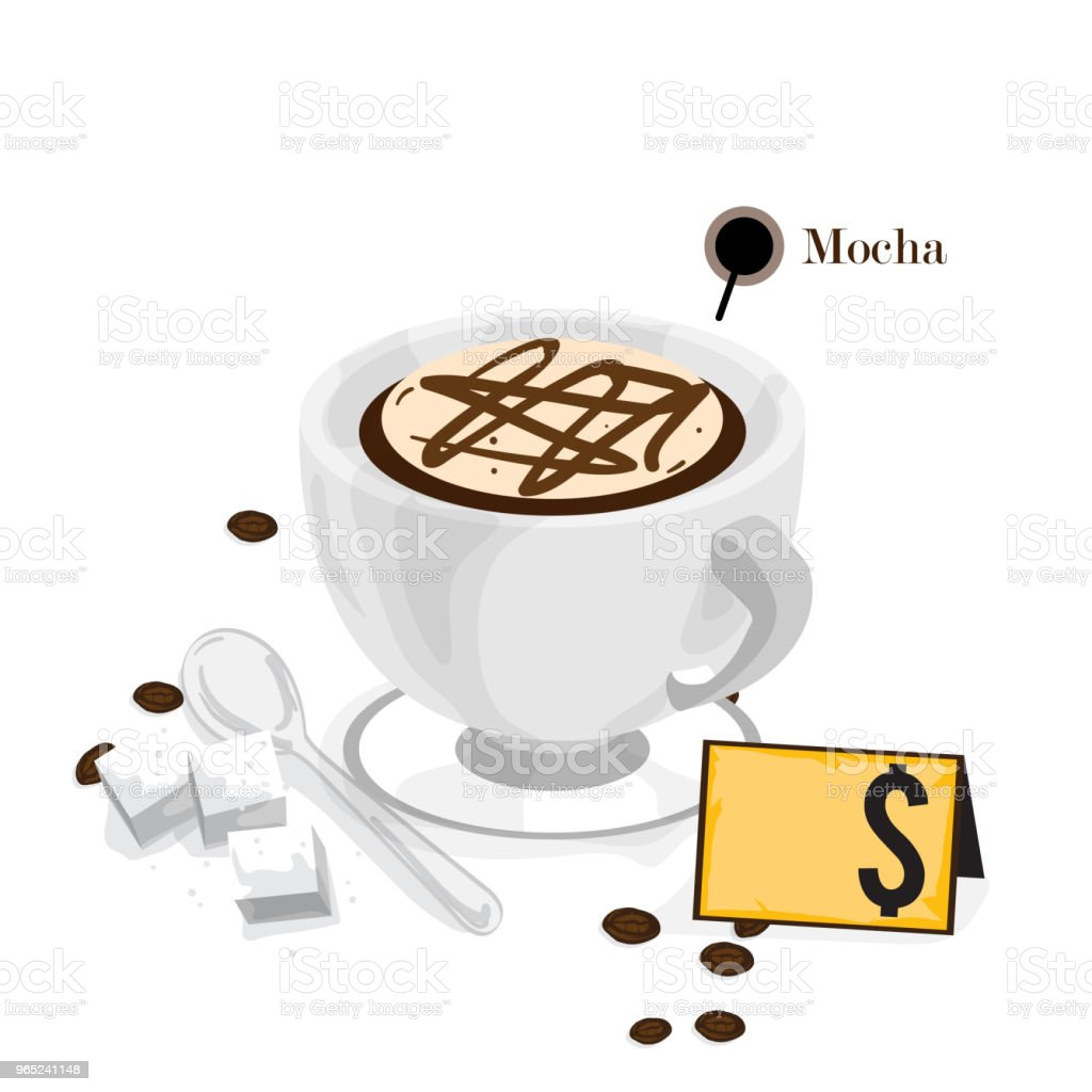 coffee graphic drawing hot drink object royalty-free coffee graphic drawing hot drink object stock vector art & more images of bar - drink establishment