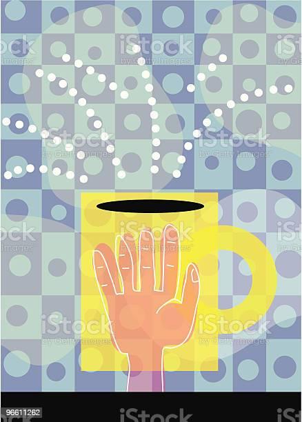 Coffee Hand-vektorgrafik och fler bilder på Avkoppling