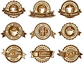 Coffee House royalty free vector interface icon set. This editable vector file features black interface icons on white Background. The interface icons are organized in rows and can be used as app interface icons, online as internet web buttons, and in digital and print.