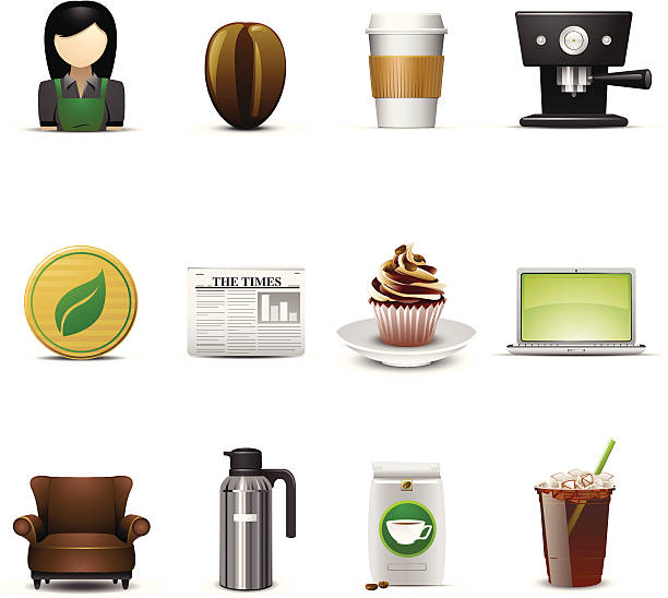 Best Coffee Grounds Illustrations, Royalty-Free Vector ...