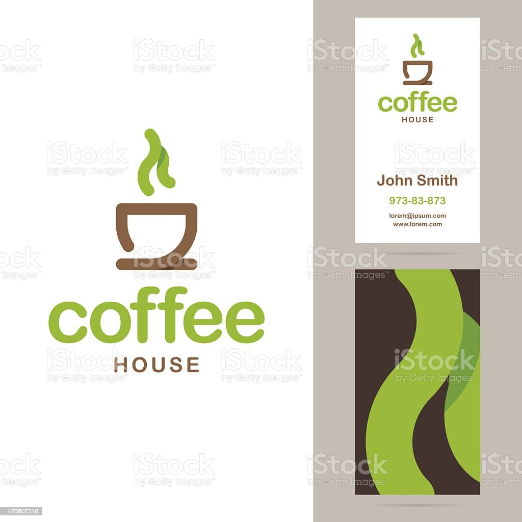Coffee House Logo Et Modles De Cartes Visite