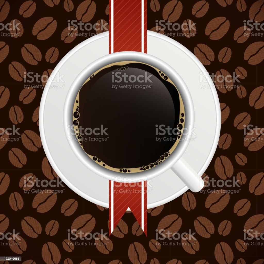 Coffee house menu template vector illustration royalty-free stock vector art