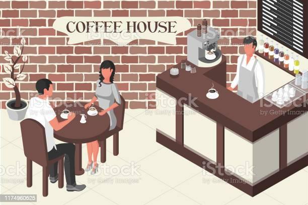 Coffee house restaurant vector id1174960525?b=1&k=6&m=1174960525&s=612x612&h=6qnkixkb3juquwxuuh6hjxayrpvqzmzdvorpl3vct5c=