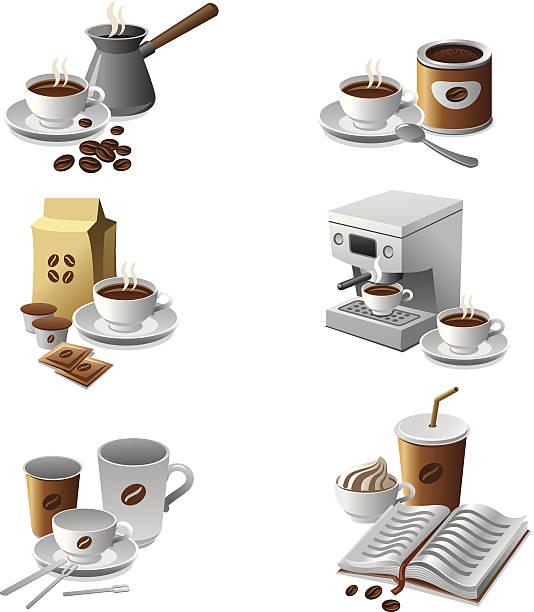 ilustrações de stock, clip art, desenhos animados e ícones de de café ícone - café solúvel