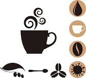 Coffee. Icon Set