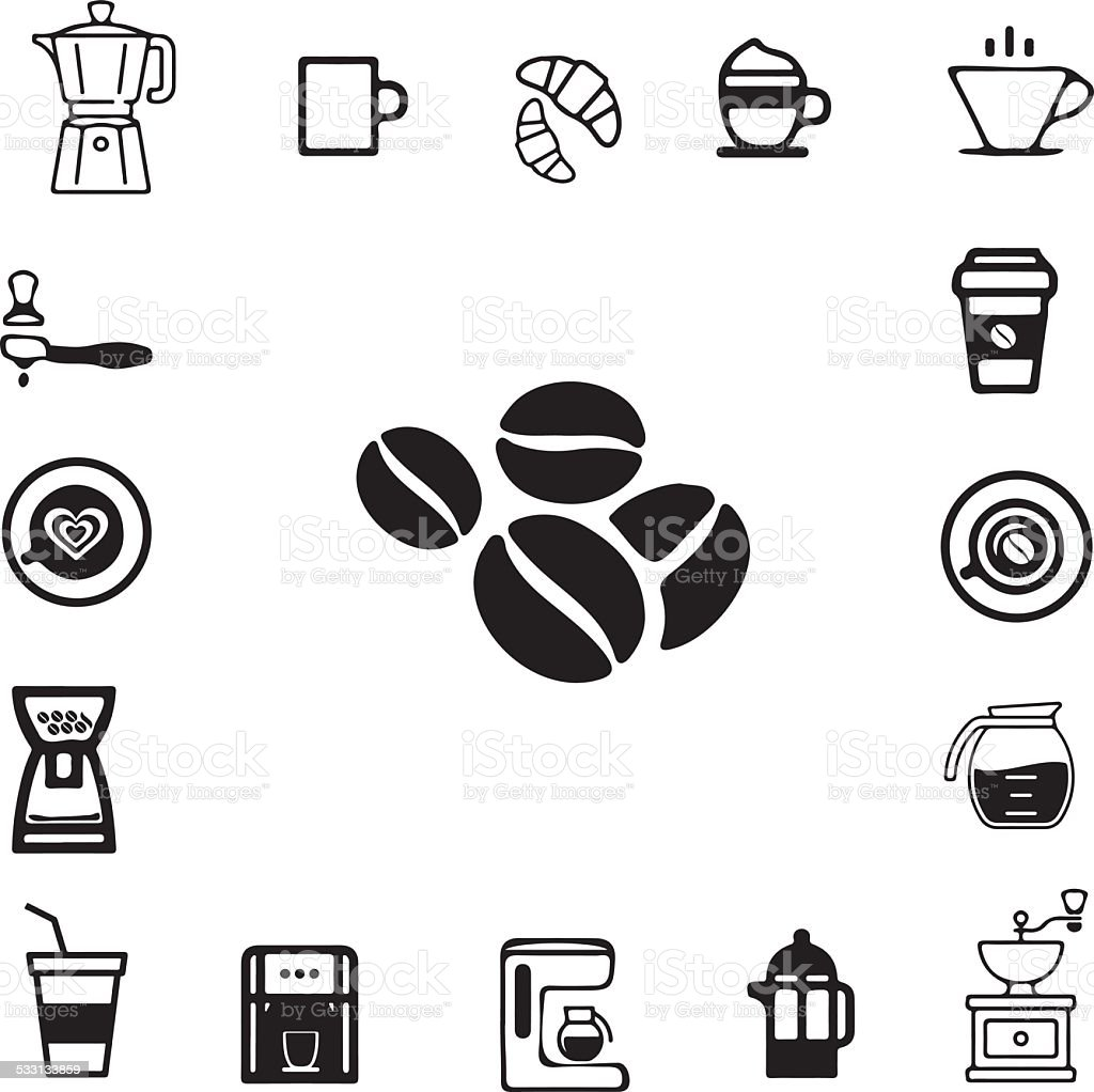 Kaffee-Symbol – Vektorgrafik