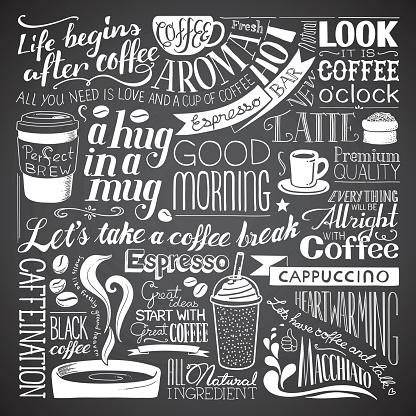 coffee icon wallpaper