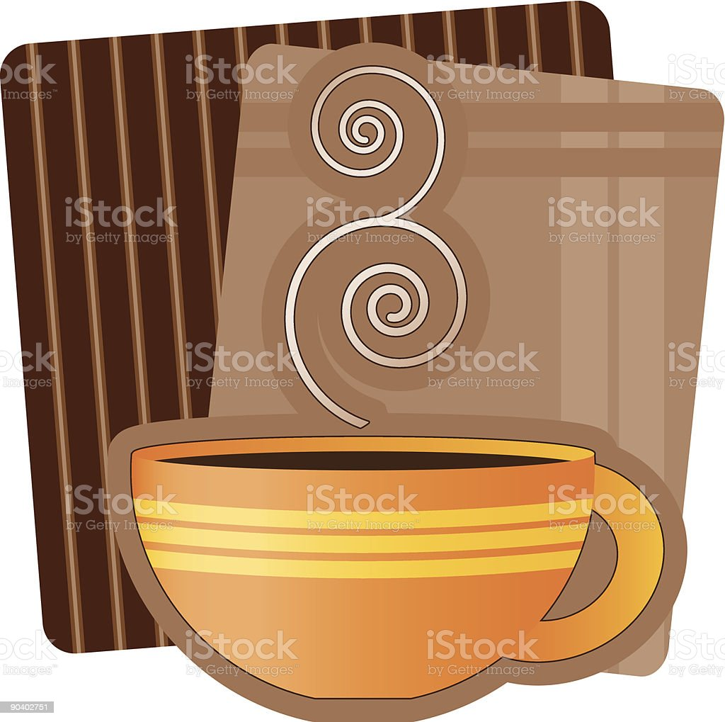 Coffee Illustration royalty-free stock vector art