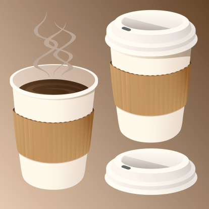Coffee in Disposable Cups