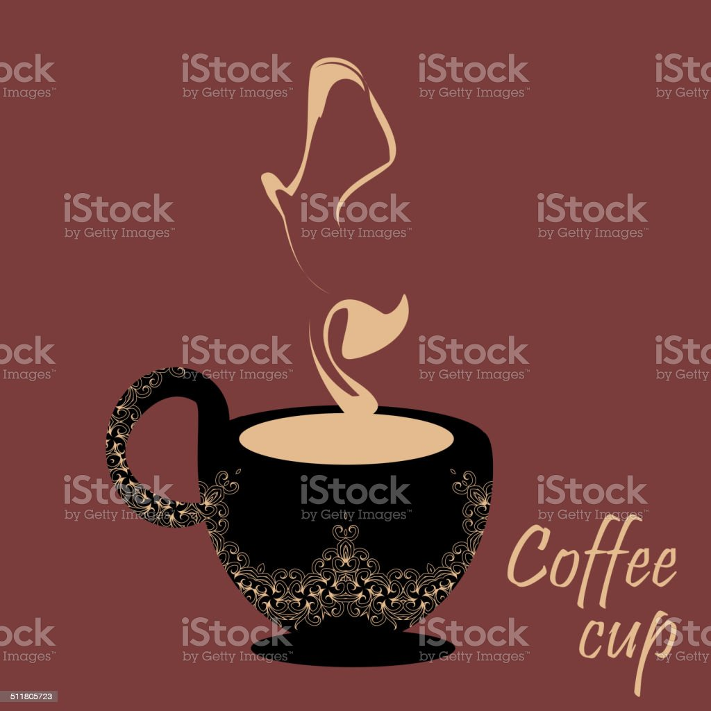 coffee invitation for restaurant template sweet design stock vector