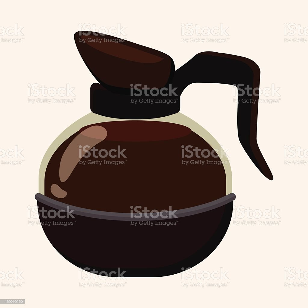 royalty free coffee pot clip art vector images illustrations istock rh istockphoto com cute coffee pot clipart arabic coffee pot clipart