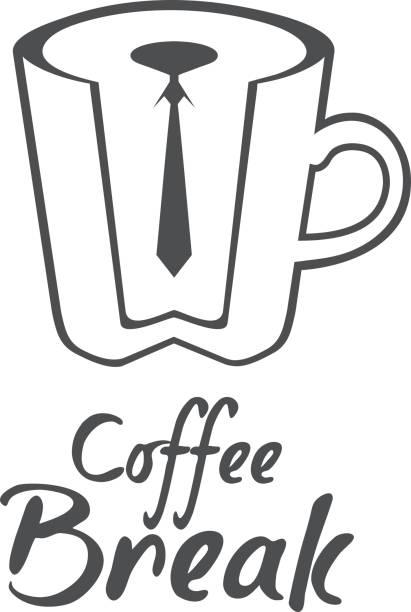 kaffee-label isoliert auf weißem hintergrund. design-element. vorlage für logo, signage, branding design - blackpool stock-grafiken, -clipart, -cartoons und -symbole