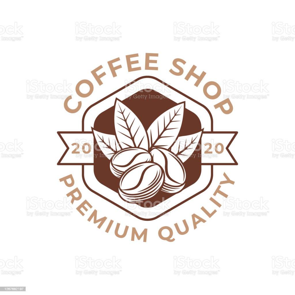 Coffee Logo Design Vector Illustration Retro Vintage Coffee Logo Vector Design Concept For Cafe And Restaurant Emblem Coffee Shop Vector Design For Logo Icon Label Badge Sign And Symbol Stock Illustration