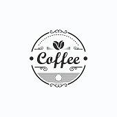 coffee logotype vector template