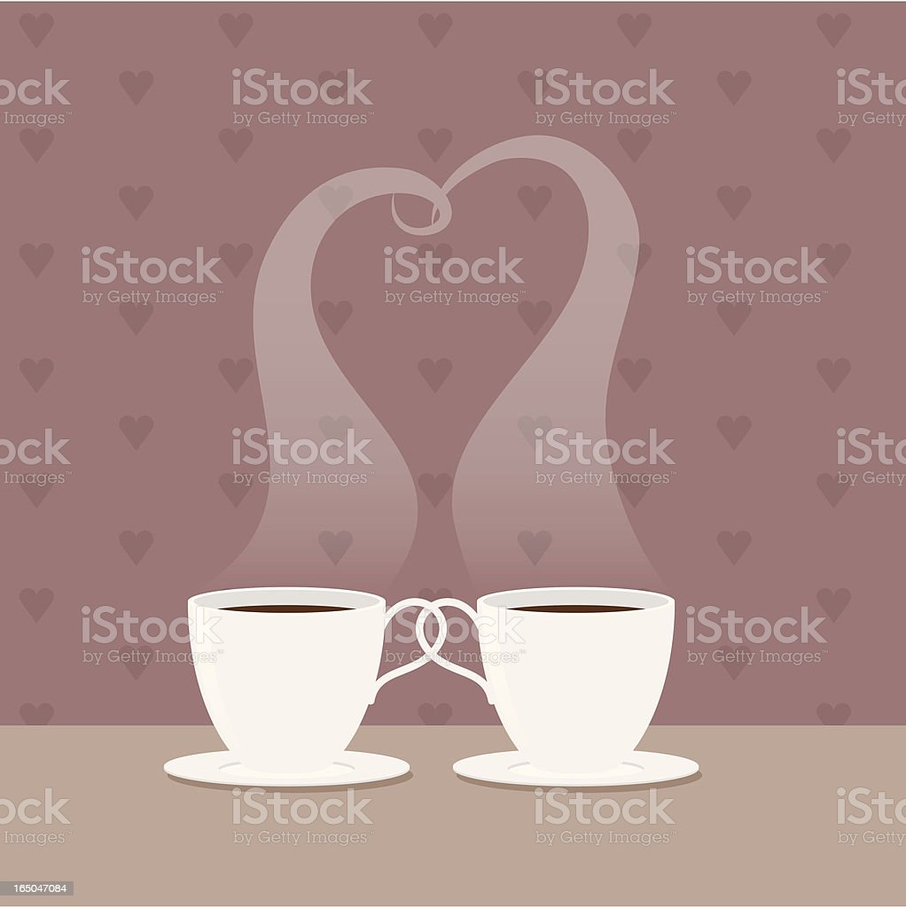 Coffee Love royalty-free stock vector art