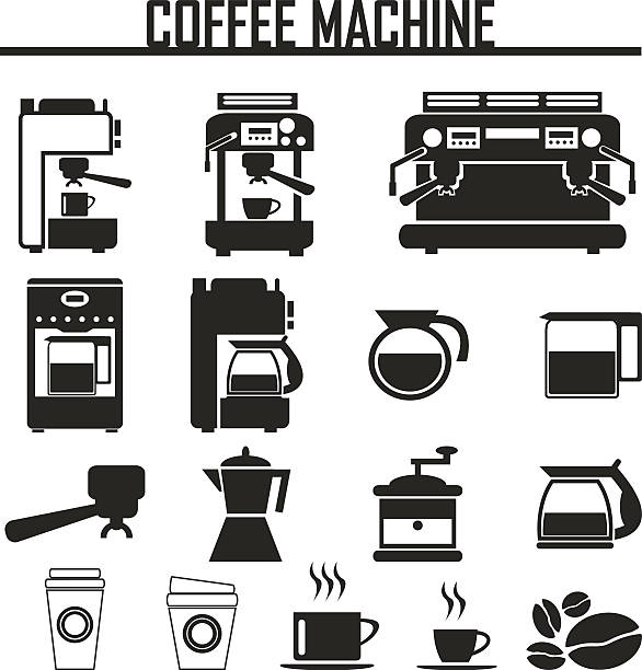 Best Coffee Pot Illustrations Royalty Free Vector