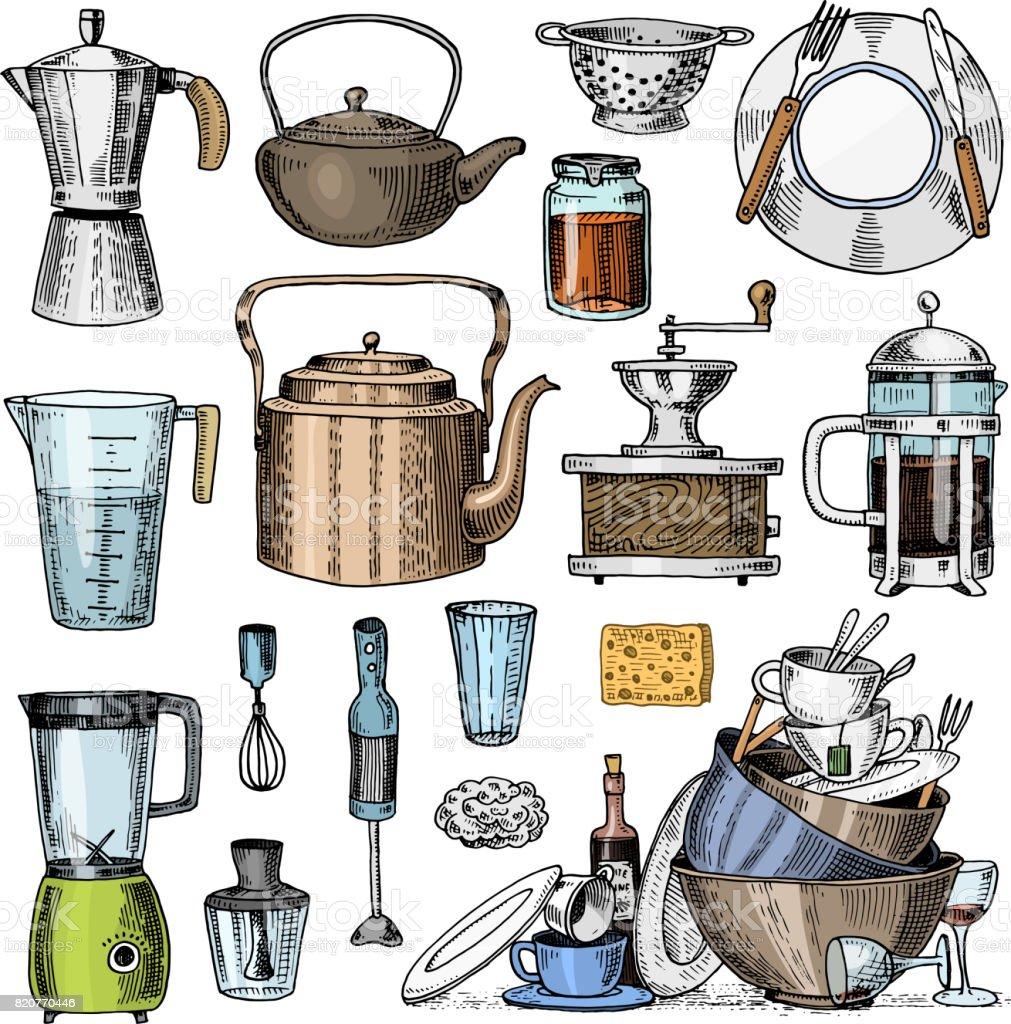 Utensilios de cocina dibujos a color dibujos para - Utensilios de cocina para pintar ...