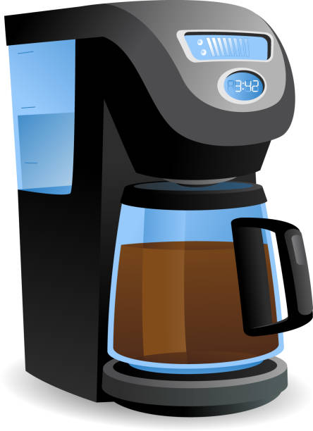 Best Coffee Pot Illustrations, Royalty-Free Vector ...