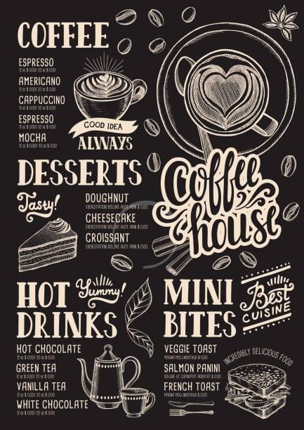 illustrations, cliparts, dessins animés et icônes de restaurant café menu, modèle alimentaire. - cuisine espagnole