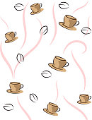 coffee cup hot drink background