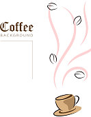coffee cup template design