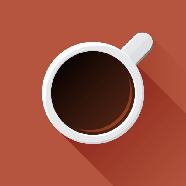 커피 머그 - coffee stock illustrations