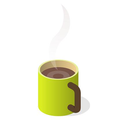 coffee mug with steam