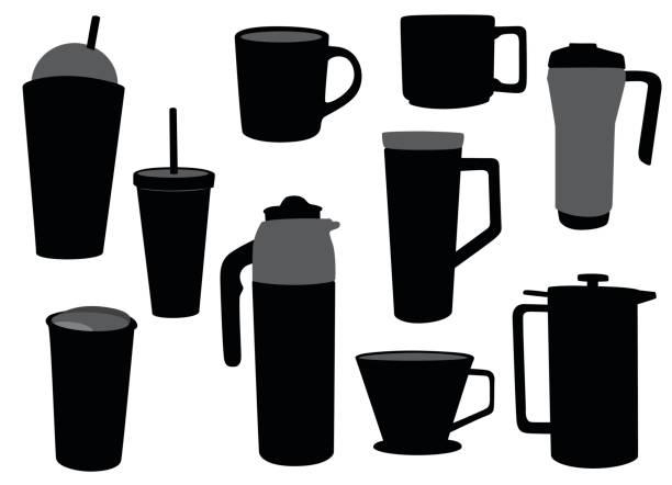 765d10aa1ec9 Top 60 Travel Mug Clip Art, Vector Graphics and Illustrations - iStock