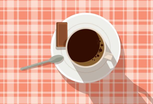 Coffee Picnic vector art illustration